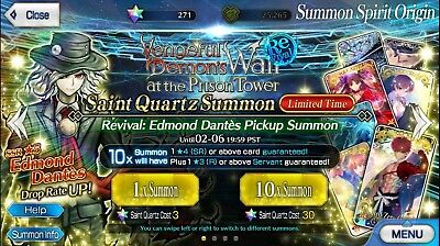 BUY 2 GET 1 FREE FGO NA 200-300 Saint Quartz Account