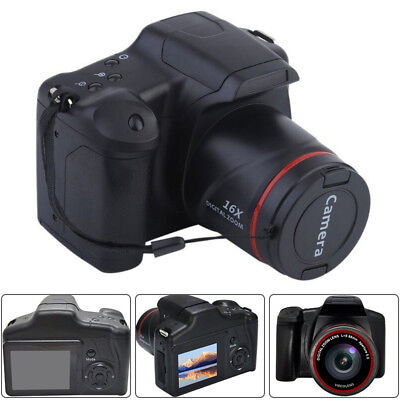 SLR-Digitalkamera 1080P Spiegelreflexkamera 16X Zoom 3 Zoll TFT LCD Display Kit