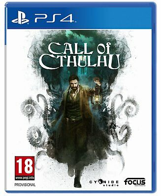 PS4 - CALL OF CTHULHU - ITALIANO - PlayStation 4