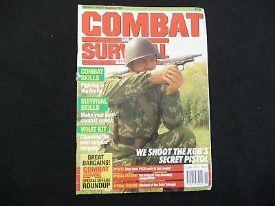Combat and Survival magazine volume 3 issue 8 (LOT#4518)