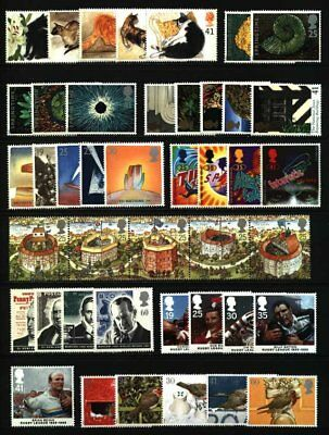 Gb Qeii Year 1995 Complete For Commemorative Sets, U/Mint, At Face