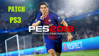 PATCH PES 2018 PS3 pro evolution soccer CONSEGNA IMMEDIATA option file