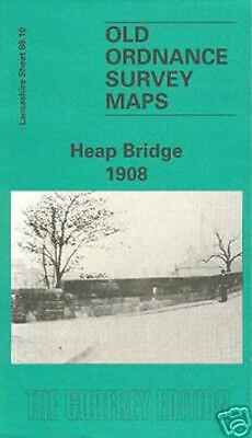 Old Ordnance Survey Map Heap Bridge 1908