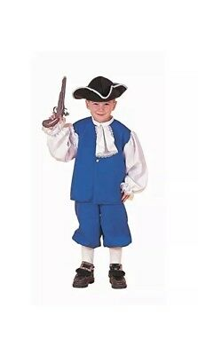 New Colonial Boy Child costume Size Medium (8-10) by Forum