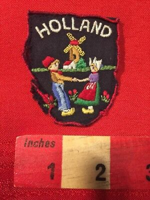 VTG ROUGH & AS-IS!!! HOLLAND DUTCH WINDMILL The Netherlands Patch 79T3