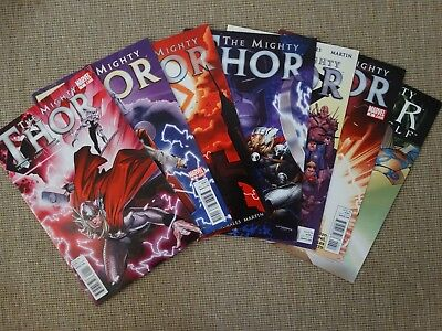 Marvel Mighty Thor (2011) Issue 1 - 8 VF/NM