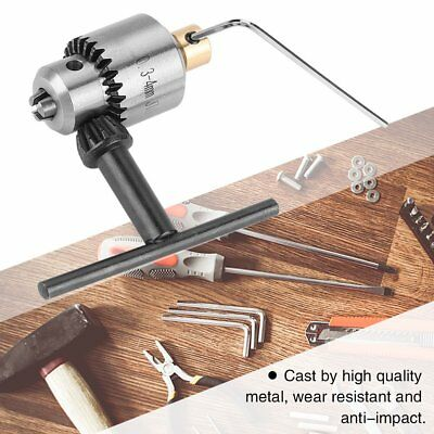 Micro 0.3-4mm JTO Taper Mounted Lathe Electric Drill Chuck & Wrench & Chuck Key