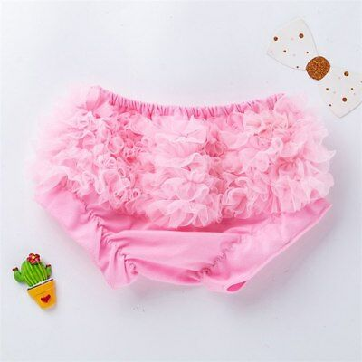 New Baby Girls Pink Cotton  Frilly Bloomers Newborn