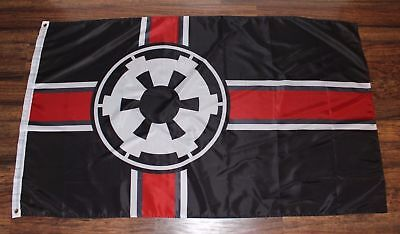 Star Wars Galactic Alliance Imperial Flag Banner Empire Strikes Back New