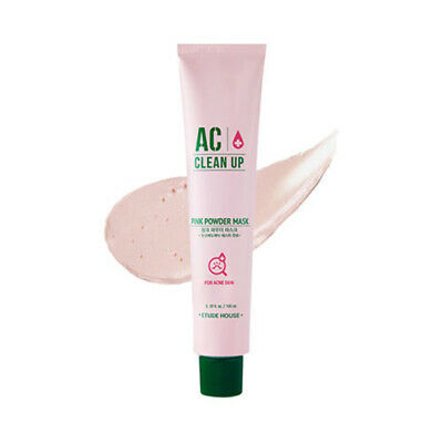NEW [ETUDE HOUSE] AC Clean Up Pink Powder Mask // 100ml