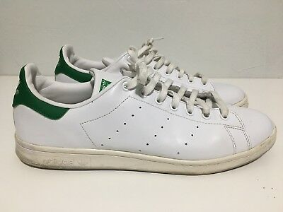 the latest c40b5 b5e0f ADIDAS STAN SMITH Sneaker Size 13 White/Green Classic Old School