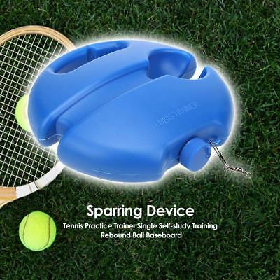 Tennis Practice Trainer Single Self-study Training Rebound Ball Baseboard