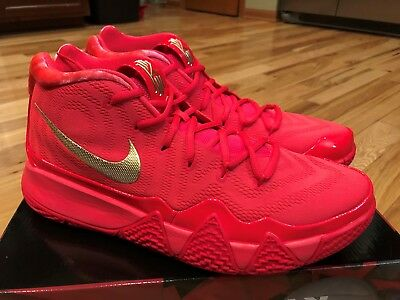 newest collection 0a8d5 2eb78 Nike Kyrie 4 Red Carpet Red Orbit Metallic Gold 943806 602 Men s Size 15