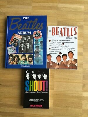 The Beatles 3 x Buch Sammlung Konvolut Paul McCartney John Lennon Ringo Starr