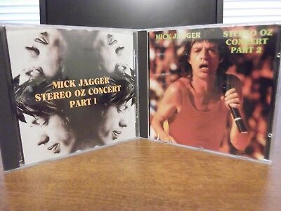 The Rolling Stones - Mick Jaggar - Stereo Oz Concert Part 1 & 2 - Cd 49-014, 015