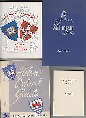 Circa 1958 13 Travel Related Booklets/brochures - England