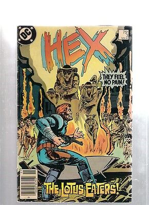 Hex No 3 November 1985 The Lotus Eater DC