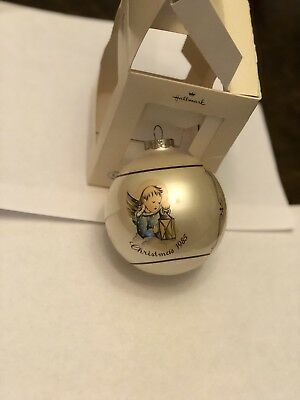Vintage Schmid Heavenly Light Glass Christmas Ornament 1985 Berta Hummel