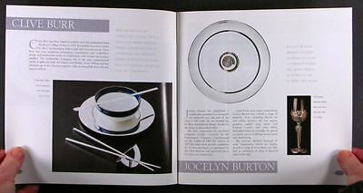 Sterling Silver Tableware - 20th Century English Studio Silversmiths Exhibit
