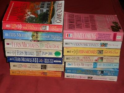 FERN MICHAELS lot of 14 Romance Novels: 14 pb books for $15~NO SHIPPING CHARGES