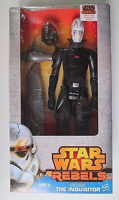 Disney Star Wars Rebels Hero Series THE INQUISITOR 12in. ACTION FIGURE NEW 2014