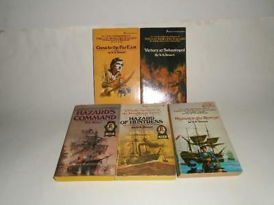 RARE Lot of 5 Horatio Hazard Adventures by V.A. Stuart pbs Guns to the Far East