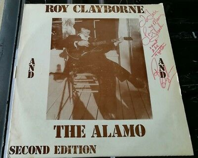 Roy Clayborne and The Alamo Second Edition LP Autographed by all band members 19