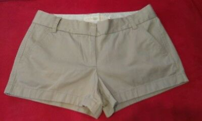 J.crew Juniors Size 4 Chino Twill Shorts Euc