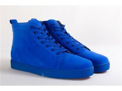 153629105722 CHRISTIAN LOUBOUTIN ELECTRIC Blue Mens Shoe Size 10 -  625.00