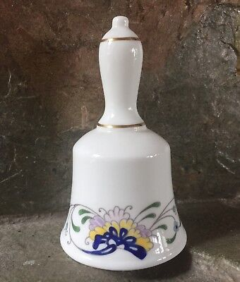 Beautiful Vintage Coalport England Pageant Porcelain Bone China Bell