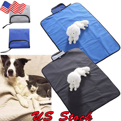 Outdoor Waterproof Pet Dog Mat Pet Blanket Super Warm Puppy Cat Bed Pad Foldable