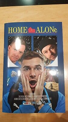 West Bromwich Albion Vs Sheffield Wed football programmes(29/12/18)(Champ 18/19)