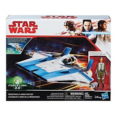 Star Wars The Last Jedi Resistance A-Wing Fighter 2.0 3.75 Inch