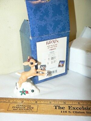Rudolph And The Land Of Misfit Toys Clarice Doe Ceramic Figurine Enesco