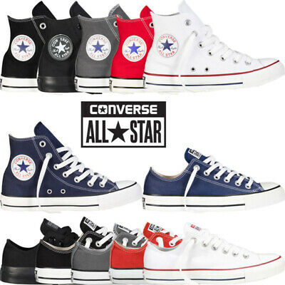 Men Women Unisex High Tops Canvas All Stars Chuck Taylors Trainer Classic Colour