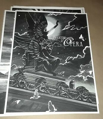 Phantom of the Opera by Nicolas Delort Poster Mondo Art Print Mint Sold Out