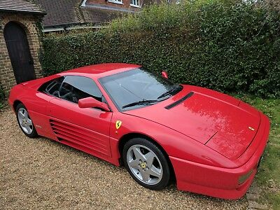 Ferrari 348 Tb Full Service History Cam Belt Changed, Stunning Condition