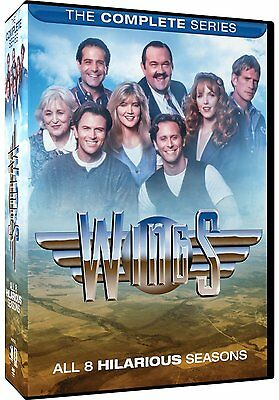 WINGS: THE COMPLETE SERIES (Tony Shalhoub) - DVD - Sealed Region 1