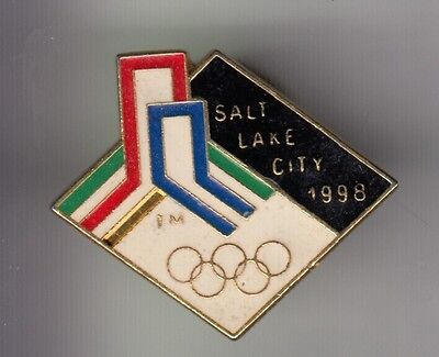 Rare Pins Pin's .. Olympique Olympic Salt Lake City Rare 1989 For 98 Candidat~17