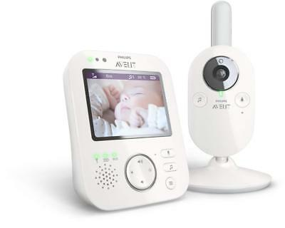 """Philips Avent SCD630 Digital Video 3.5"""" Baby Monitor"""