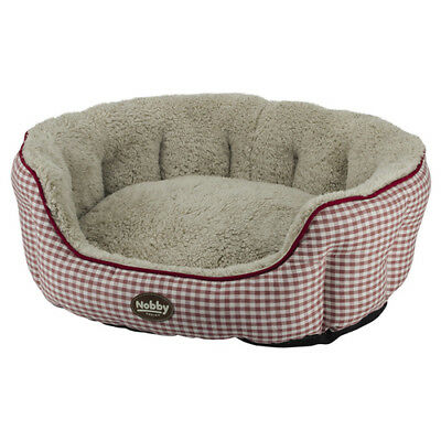 Nobby Dog Bed Oval Xaver Red, Various Sizes, New