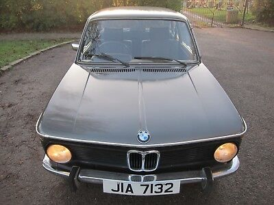 RARE, VERY LOW MILEAGE, 1975 BMW 2002 E10 - in good running order with fresh MOT