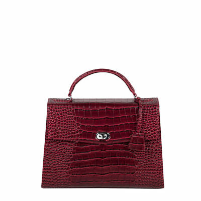 Socha Audrey Croco Burgundy Business Bag Tasche f.Medion Akoya E3216