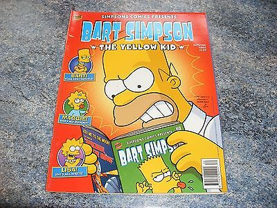Bart Simpson Autumn 2004 Comic The Yellow Kid Complete With Pull Out