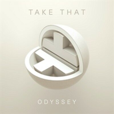 Take That - Odyssey - New Deluxe 2CD - Hardback Book Style Cover