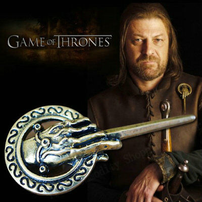 Charming Game of Thrones Hand of the King Badge Lapel Replica Costume Pin Brooch