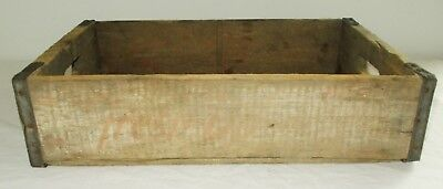 Vintage Wooden Soda Crate 7 UP Distressed Wood
