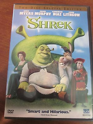 Shrek Two Disc Special Edition Mike Myers Eddie Murphy Cameron Diaz Used Dvd
