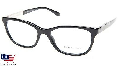 0df45497eca NEW BURBERRY B 2232 3001 BLACK EYEGLASSES GLASSES FRAME B2232 53-17-140  Italy