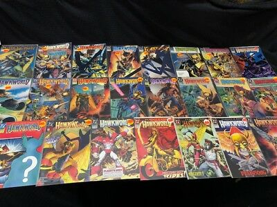Hawkworld Lot of 23 Comics - DC Comics
